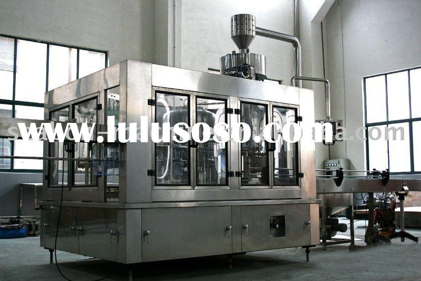 PET Bottle 3-in-1 filling machine for beer product
