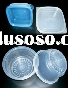 PP microwave disposable plastic bowl with lid