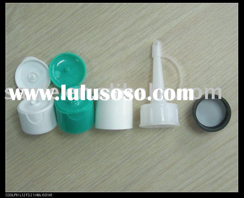PP plastic cap in different color, PE plastic cap, ABS plastic cap