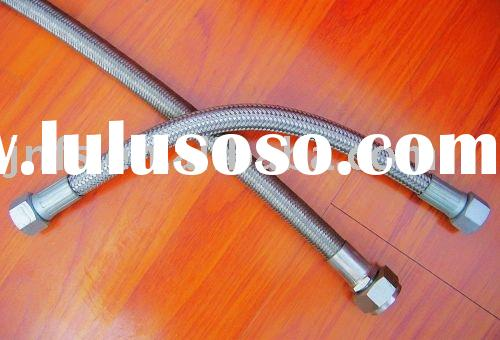 PTFE hoses braided with stainless steel