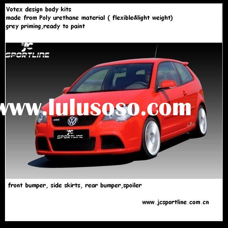 PU car bumper for VW polo CUP design