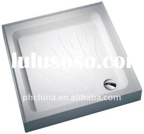 PW-841 Square Acrylic Vanity Tray With A Hole