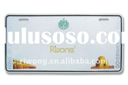Pakistan license number plate,Pakistan car plate,reflective film number plate