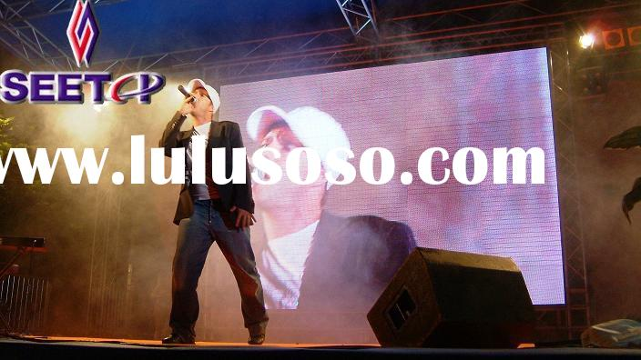 Patented Soft LED Display for Stage, Club, Special events, Trade show and Rental busi