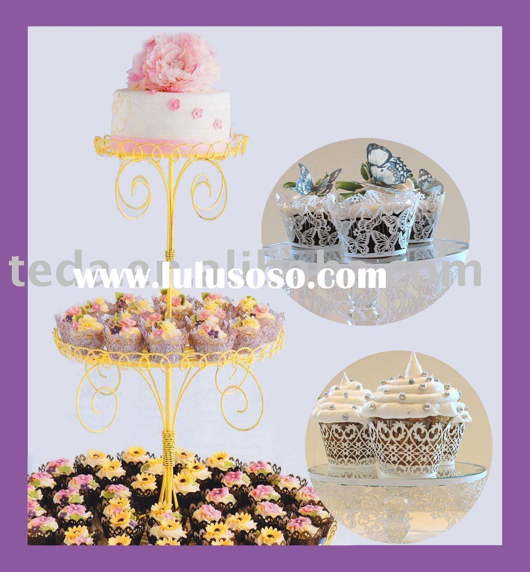 Petites Cupcake Wedding Cake wrappers