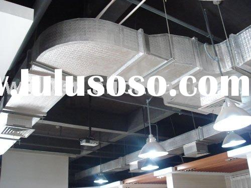 Phenolic Foam Pre-insulated Ducting Panel with GI and Aluminium Foil