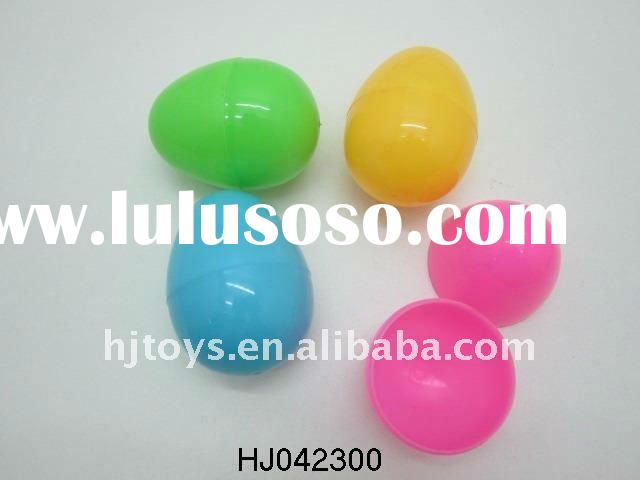 Plastic PP Easter Color eggs for decorating