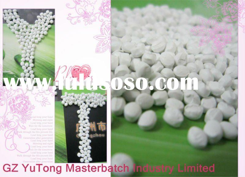Plastic Tio2 White Masterbatch for Injection Molding&Blow Film&Extrusion/Manufacturer