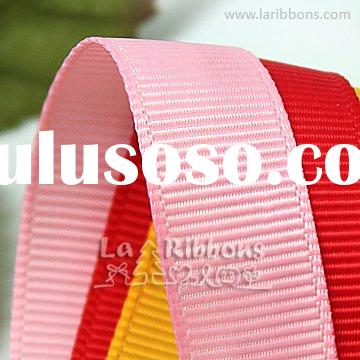 Polyester Grosgrain Ribbon Printed Grosgrain Ribbon Glitter Grosgrain Ribbon