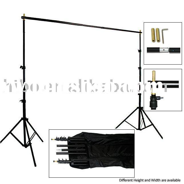 Portable Professional Photo Studio Background Kit Backdrop stands-Pro duty, heavy duty