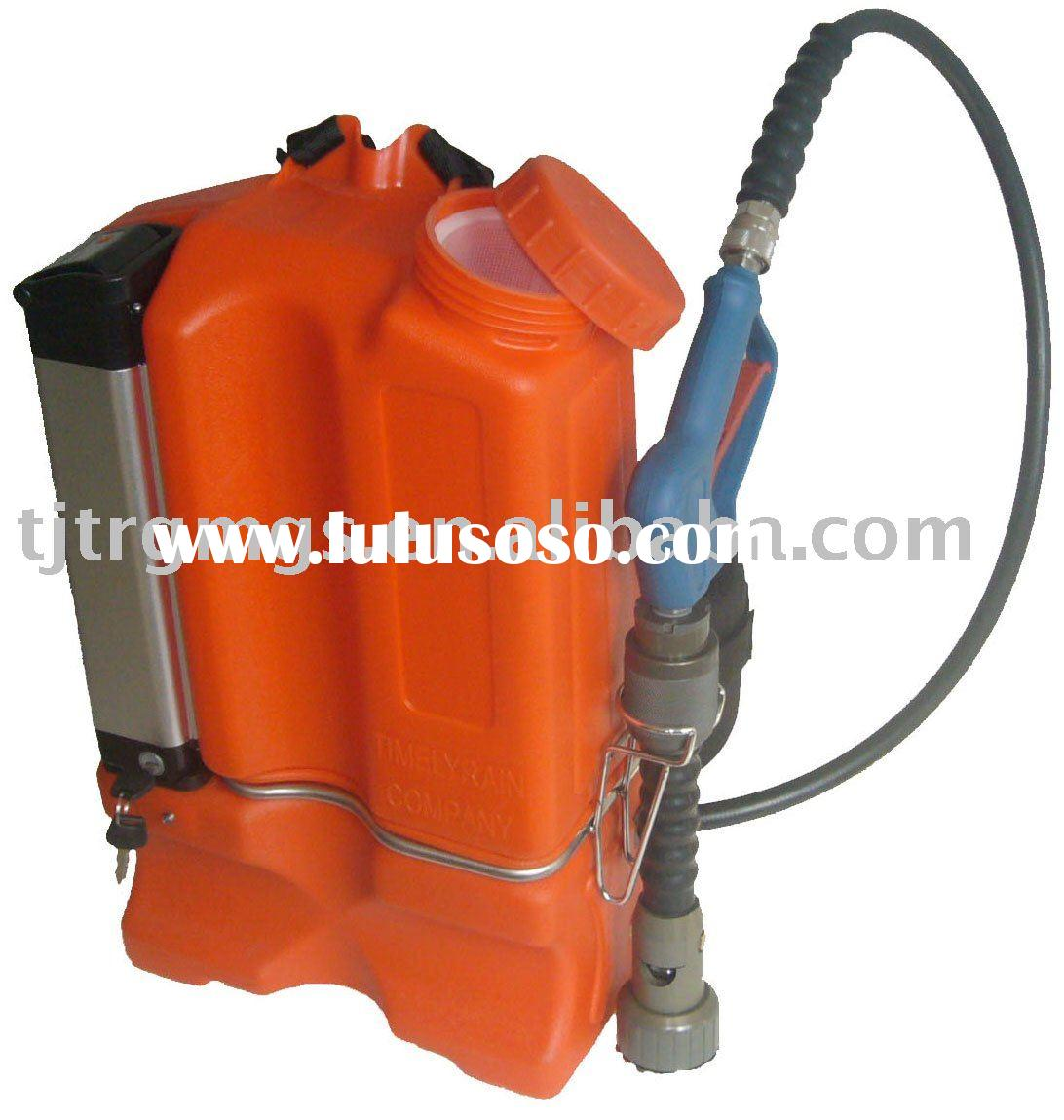 Portable Water Mist Fire Fighting extinguisher(Battery powered)