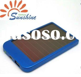 Portable cell phone/MP3/MP4 solar charger