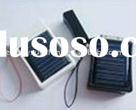 Portable solar panels charger for cell phone