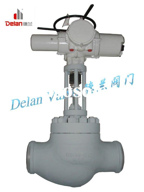 Power Plant Main Feed Water Control Valve