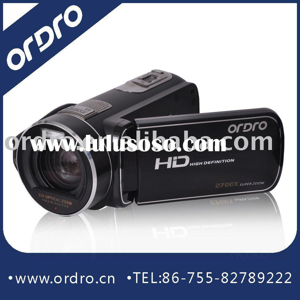 Professional digital video camera HDV-D370, 2760x super zoom