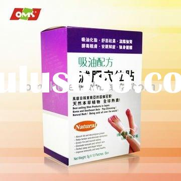 Pure herbal weight loss Absorb Fat Formula Slimming Point Patch