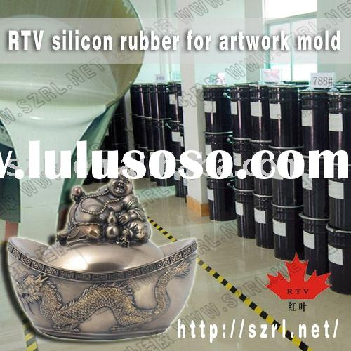 RTV liquid silicon rubber for making statues buddha molds