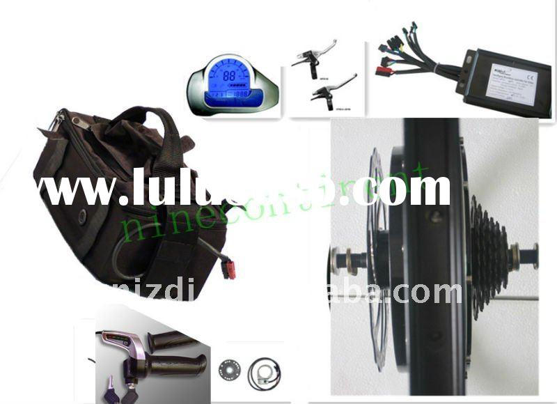 Rear disc motor high power electric bicycle conversion kit
