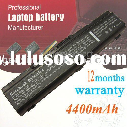 Replacement Laptop battery for TOSHIBA Satellite A200 A205 A210 A215 A300 A305 L200 L305 M200 PA3534