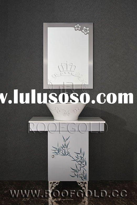 Roofgold Stainless steel Bathroom Vanity Cabinet