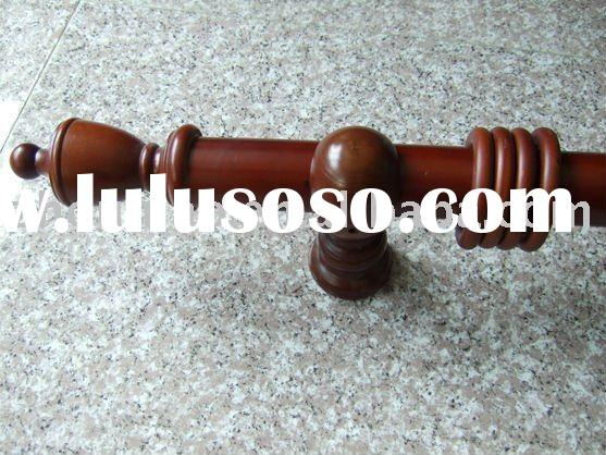 2 inch curtain rods