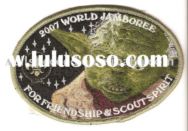 Scout Patch, Girl Scout Patch, Boy Scout Patch, Embroidery Patch, Embroidery Appliques