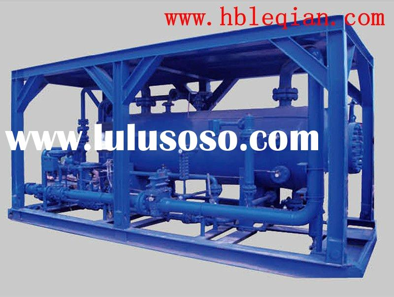 Shell and tube heat exchanger Three phase separator