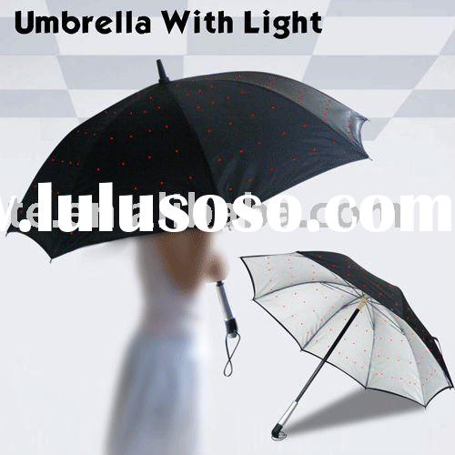 Shining LED UMBRELLA, UMBRELLA with Light
