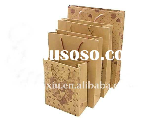 Shopping Gift Kraft Paper Bag For 2012
