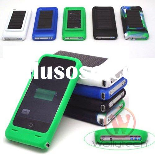 Silicon case solar charger for iPhone 3G 3GS ipod accessories