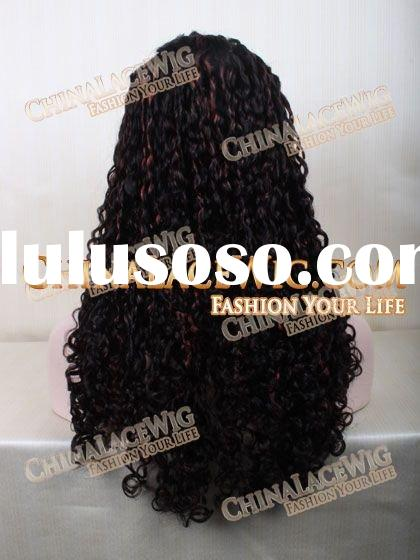 Silk top wholesales hand tied 100% Brazilian human hair remy stock full lace wigs low price