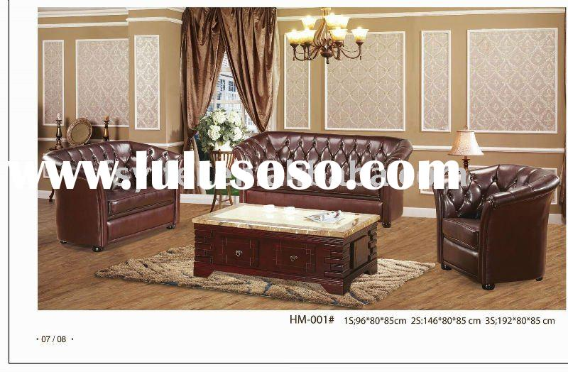 Simple Classical Design Leather hotel furniture HM-001
