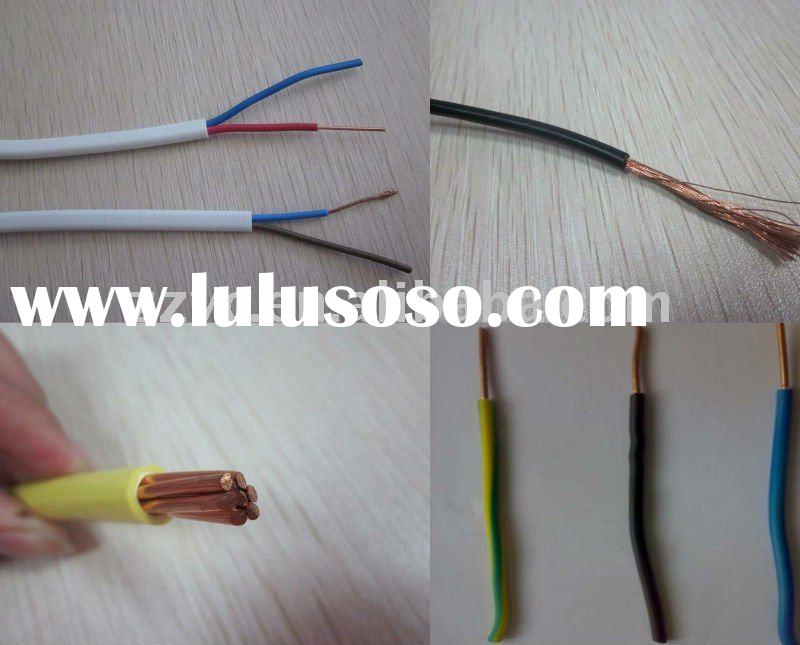 Single PVC Copper Cable:1.5mm, 2.5mm, 4mm,6mm,10mm,16mm, 25mm