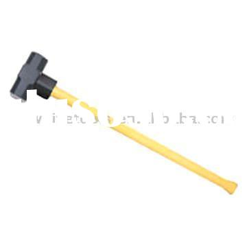 Sledge Hammer with Plastic-Coated Handle