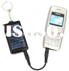 Solar Power Charger - Key chain shape,1000mAh,Fits for Mobile Phone/Digital Camera/PDA/MP3/MP4/Bluet