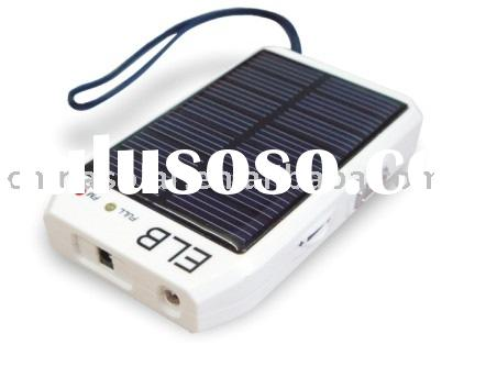 Solar Powered Cell Phone Battery Recharger