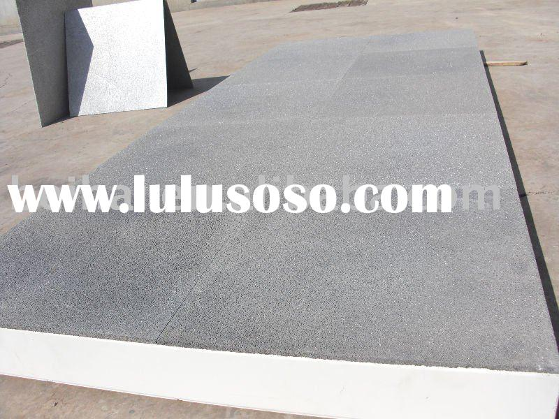 Soundproof and heat insulation new patent construction panel Aluminum foam panel (Closed cell )