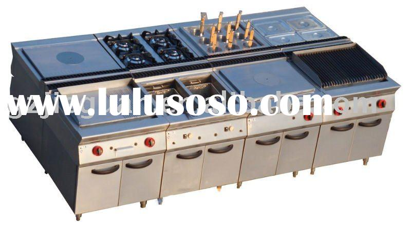 Stainless Steel Combination Kitchen equipment/restaurant equipment/Catering equipments