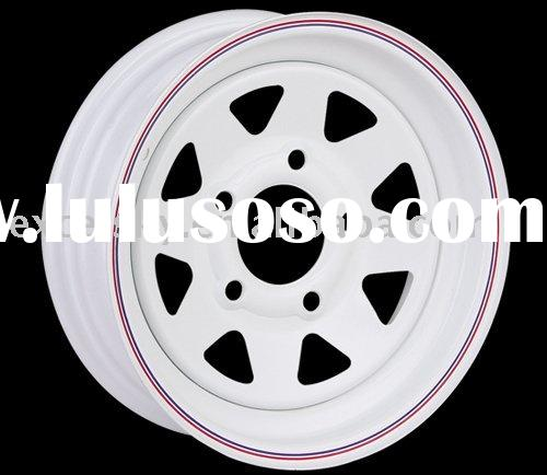 Steel trailer wheel,auto car,commercial vehicle tubeless wheel, Trailer Truck Wheel Rims, Auto Parts