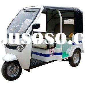 TEB-88 Newest luxury electric tricycle for passenger with electra car design