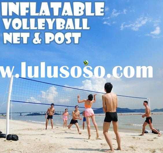 TOPSALE INFLATABLE & PORTABLE VOLLEYBALL NET volleyball
