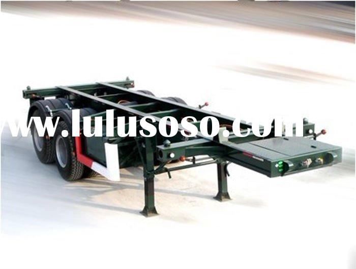 TWO AXLE SEMI TRAILER 40TON FOR TRUCK
