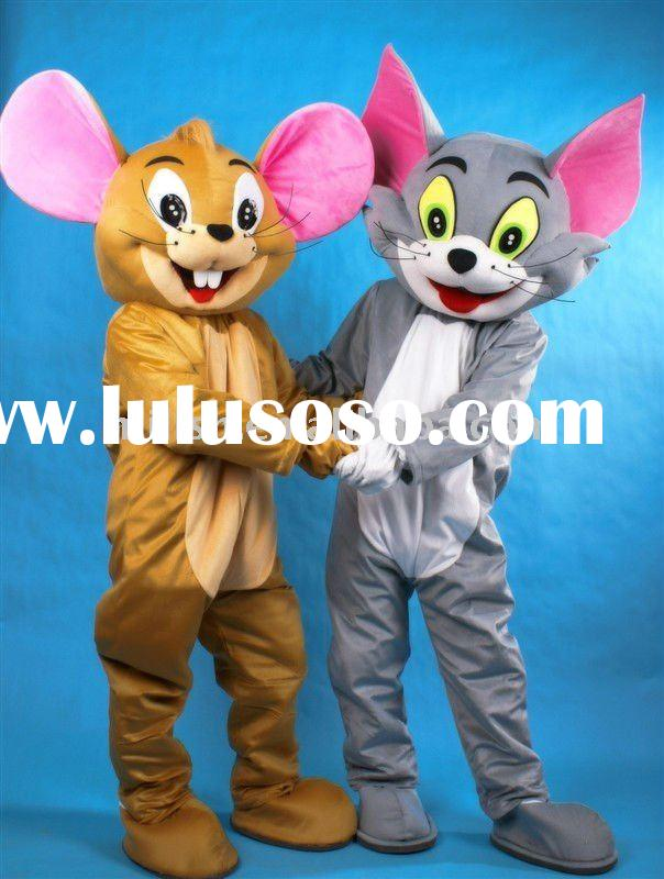 Tom and Jerry Mascot costumes/Mascot fancy dress MAE-0016