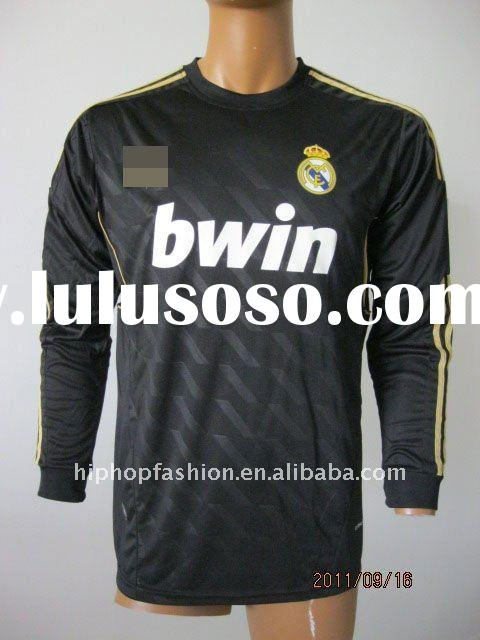 Top Quality 2012 Season Real Madrid away football jersey,embroidery logo accept paypal