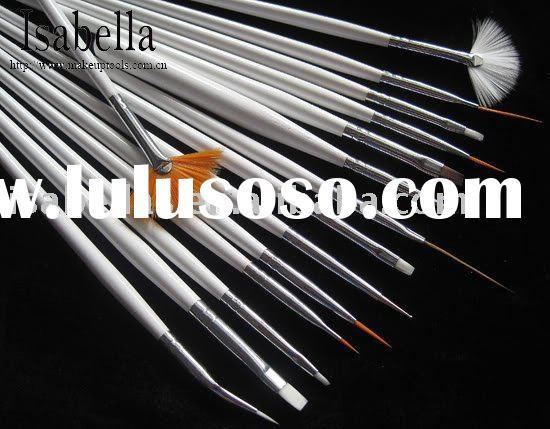 Top Quality Professional 15 pcs Nail Art Brush Set