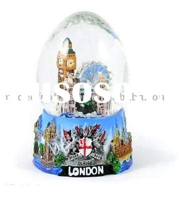 UK LONDON souvenir gifts, London snow globe