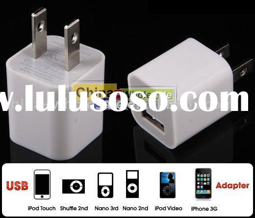 USB AC Power Charger Adapter 3G 3GS