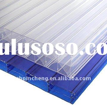 UV protected & 10years gurantee polycarbonate roofing sheets