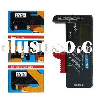 Universal AA AAA C D 9V Cell Battery Tester Checker