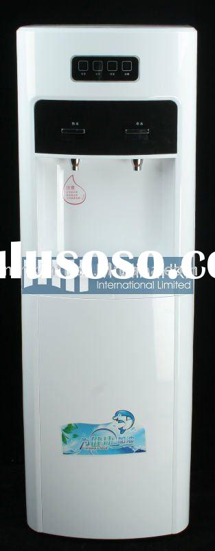 Vertical Cold and Hot Water Dispenser with RO System